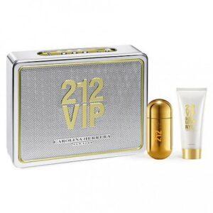 Set Apa De Parfum Carolina Herrera 212 Vip, Femei, 80ml