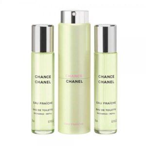 Apa De Toaleta Chanel Chance Eau Fraiche, Femei, 3x20ml