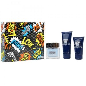 Set Apa De Toaleta Moschino Forever Sailing, Barbati, 50ml