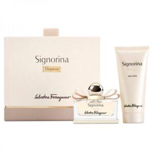 Set Apa De Parfum Salvatore Ferragamo Signorina Eleganza, Femei, 100ml