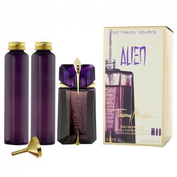 set apa de parfum thierry mugler alien femei 60ml magazinul tau online de parfumuri speciale. Black Bedroom Furniture Sets. Home Design Ideas