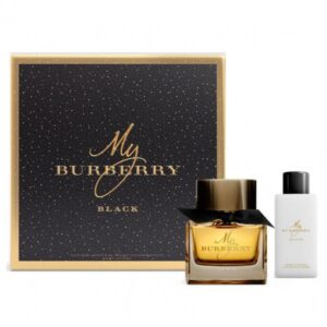 Set Apa de parfum Burberry My Burberry Black 50ml.75bl, Femei, SET